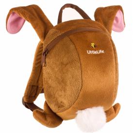 LittleLife 10840 Toddler Daysack Rabbit, fun rucksack with reins