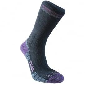 Bridgedale Women's Woolfusion Trail Black/Purple 016