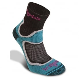 Bridgedale Women's Coolfusion Run Speed Trail Turquoise 413