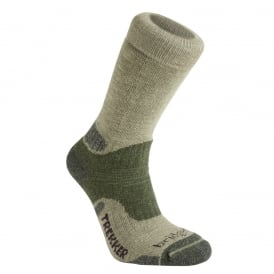 Bridgedale Mens Woolfusion Trekker CuPED Green 736