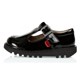 Kickers Kick T infant Patent Black