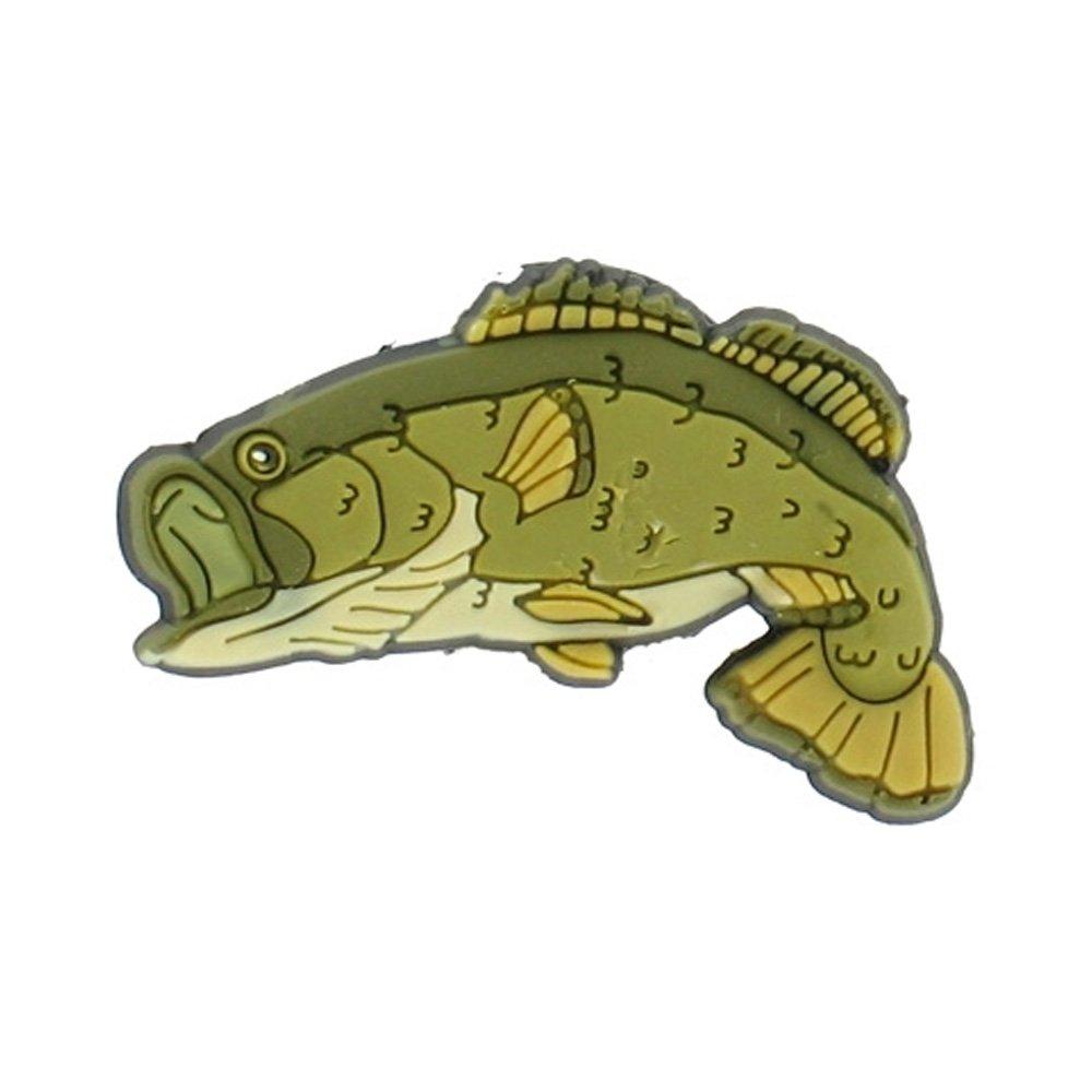 Jibbitz bass fish jibbitz from jelly egg uk for Bass fish slippers