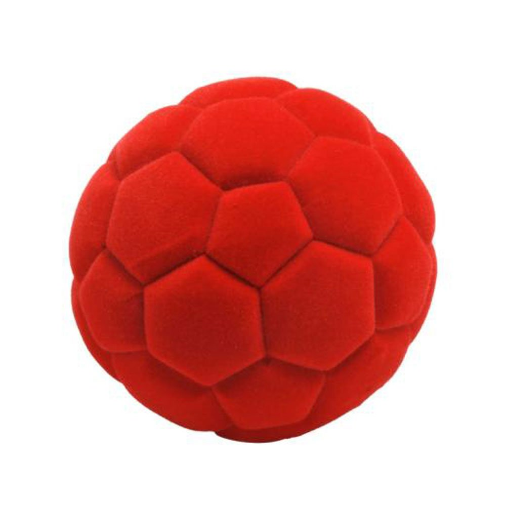 Red Ball Toy : Rubbabu ball soccer red natural foam toys in simple