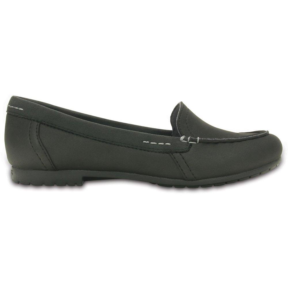 Crocs Womens Marin Colourlite Loafer Black/Black, light ...