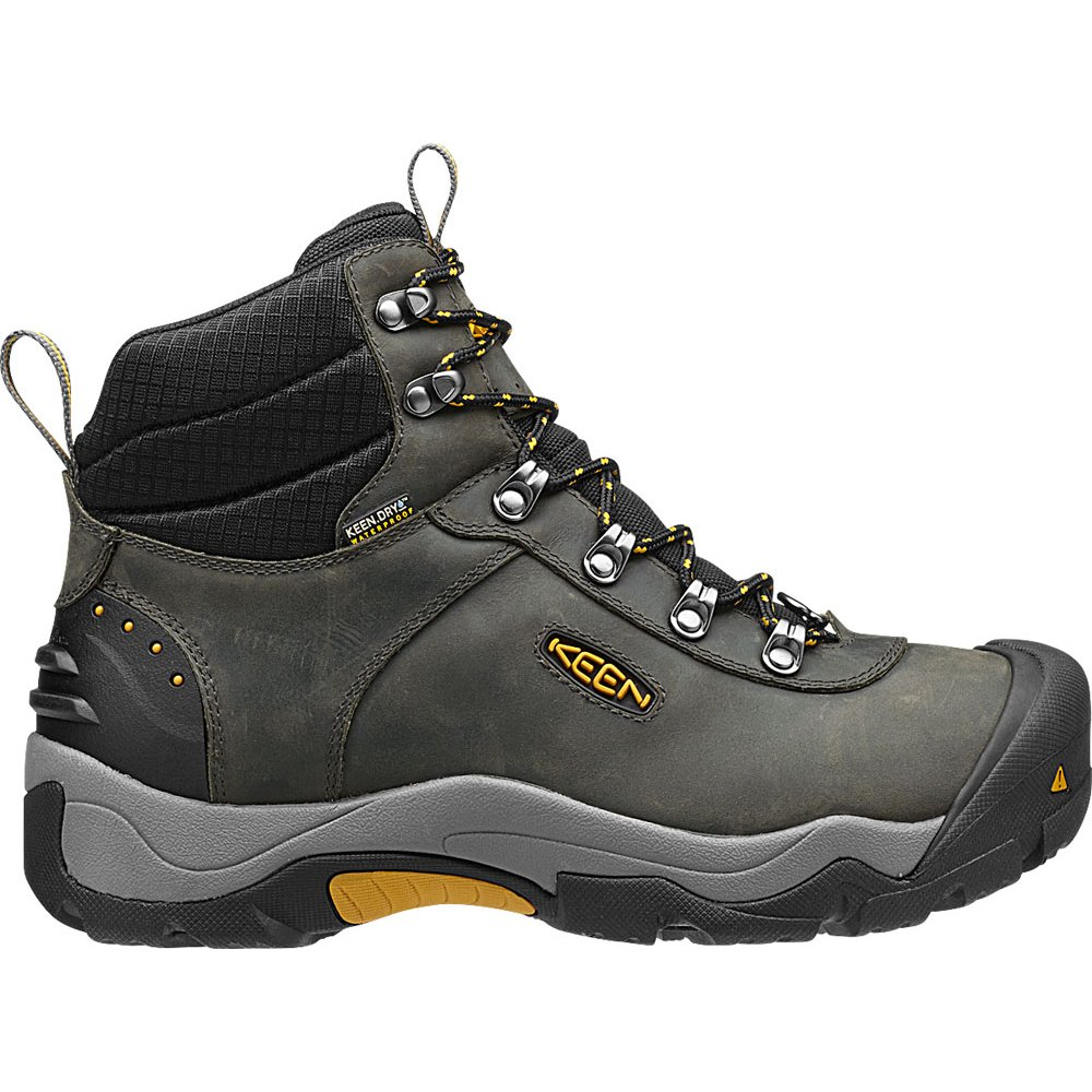 KEEN Mens Revel III MagnetTawny Olive Whatever The Weather Hiking