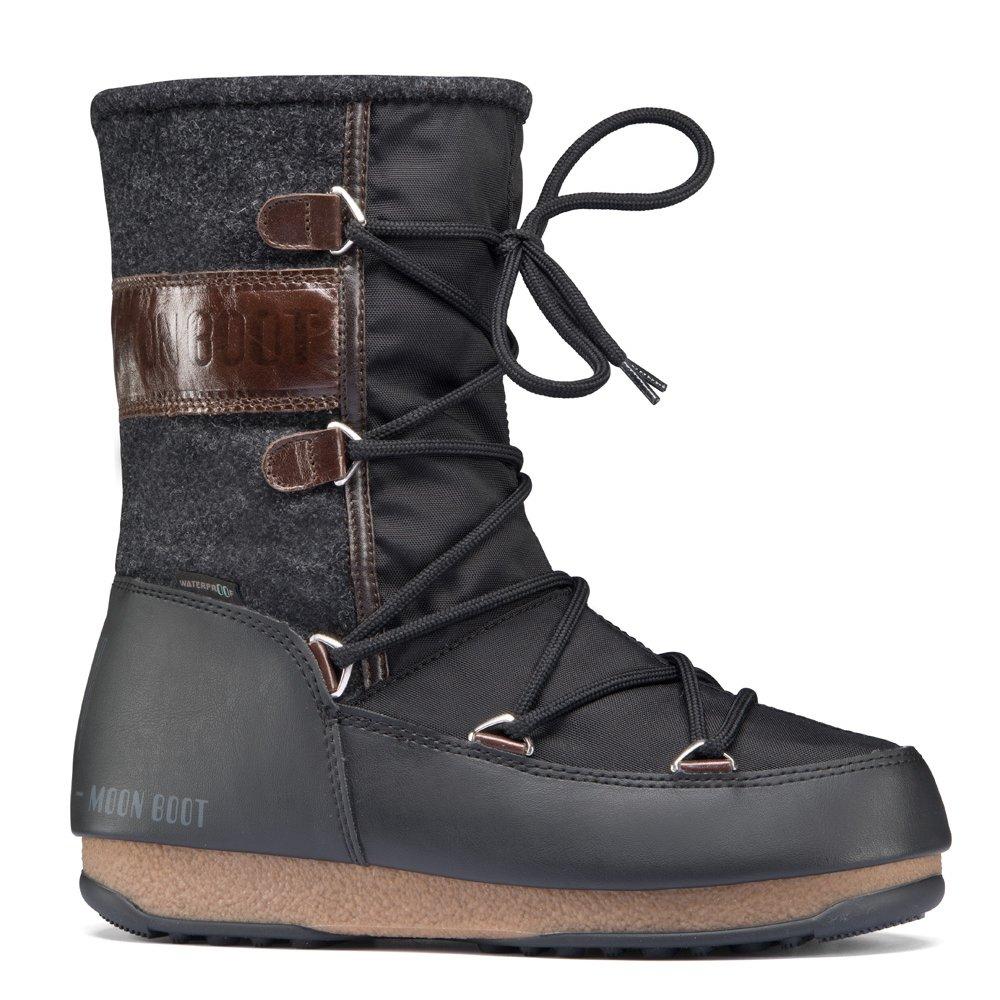 moonboot moon boots vienna felt black brown