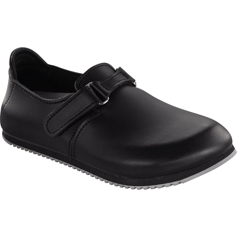Birkenstock Birkenstock Linz Super-Grip Black 583184 Closed Toe Design With Super Grip Soles ...