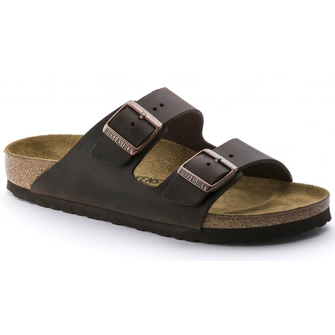 Birkenstock Arizona 52533 Oiled Leather Habana Narrow, oiled leather classic sandal