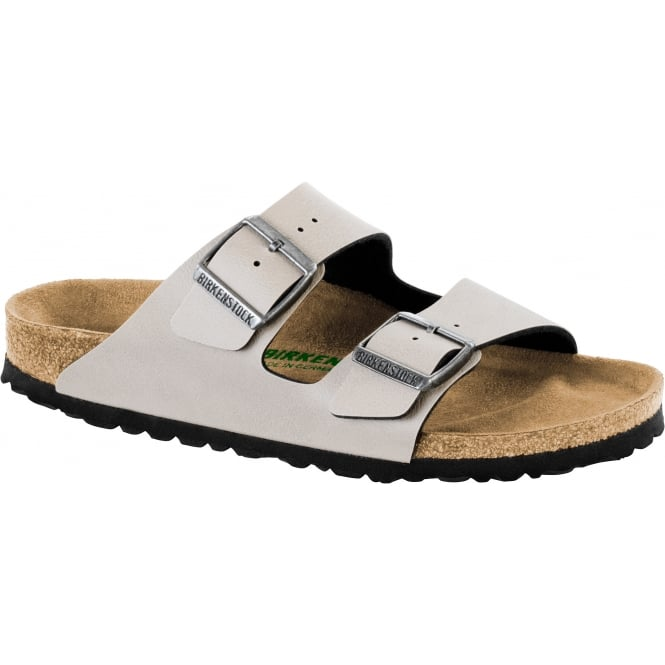 Birkenstock Arizona BF (VEGAN) Pull Up 109981 Stone NARROW