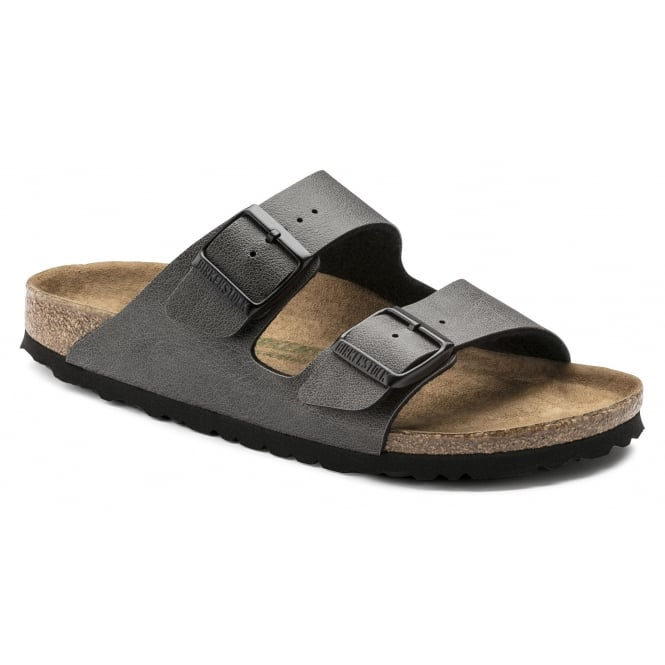 Birkenstock Arizona BF (VEGAN) Pull Up1009367 Antracite NARROW