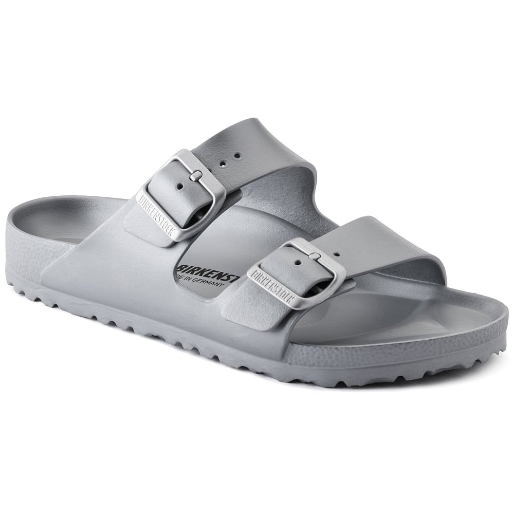 387a572e965e2 Birkenstock Arizona E V A 1003490 Silver REGULAR - Men from Jellyegg UK
