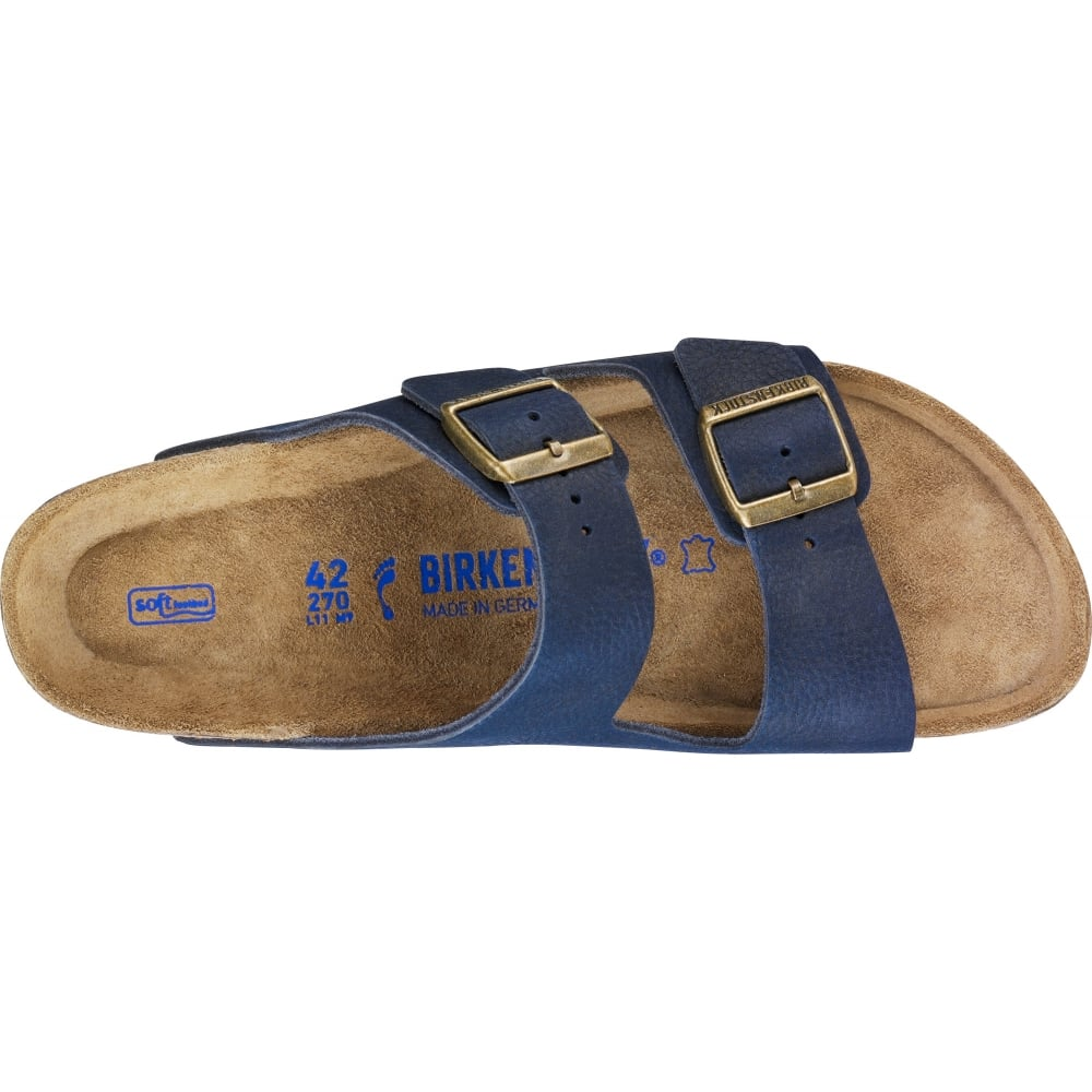3fbe66e22 Birkenstock Arizona NB SF 1008926 Steer Indigo NARROW - Women from ...