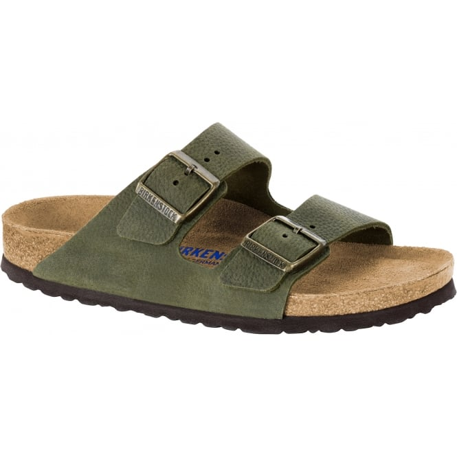 Birkenstock Arizona NB SF 1009943 Steer Khaki NARROW