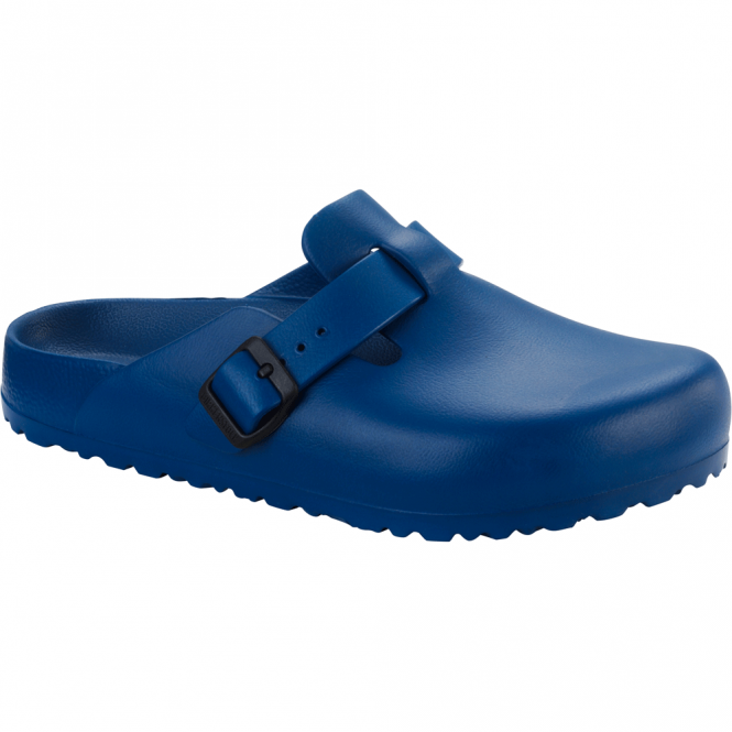 Birkenstock Boston EVA Navy 127113, the classic Boston clog but with a EVA twist