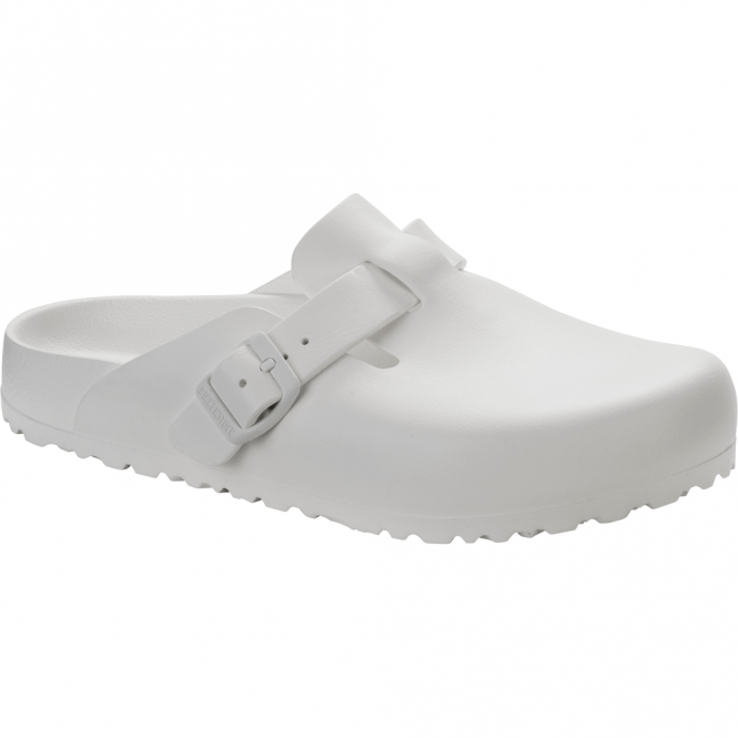 Birkenstock Boston EVA White 127133, the classic Boston clog but with a EVA twist NARROW
