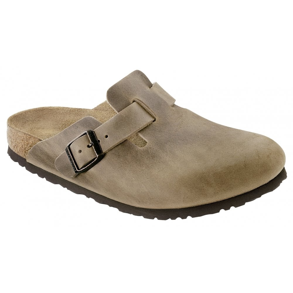 new style aa426 4893a Birkenstock Boston OL 960811 Tobacco Brown REGULAR