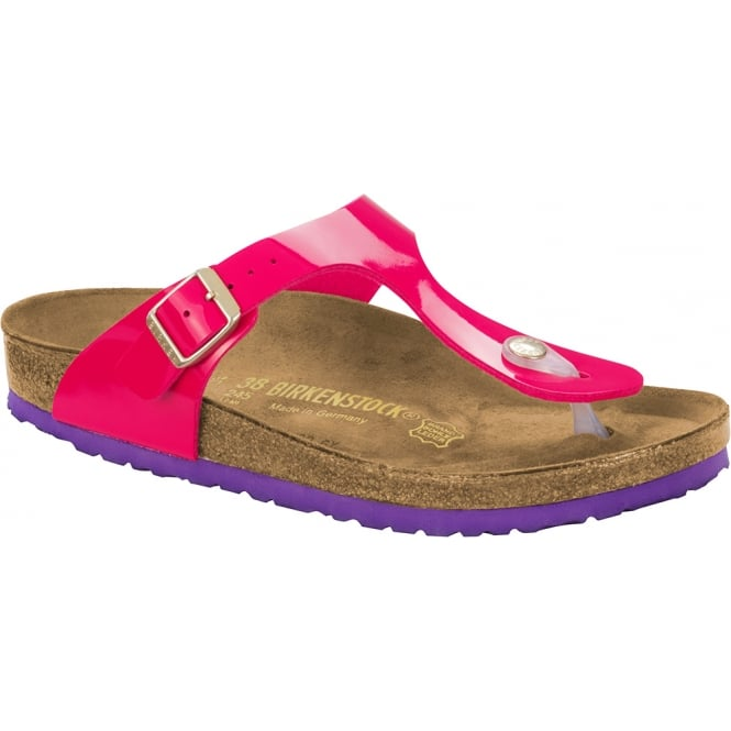 Birkenstock Gizeh 1005303 Pink /Viola regular, The best selling Birkie toe post