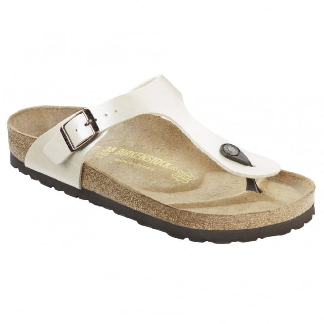 Birkenstock Gizeh 943871 Pearl White Graceful REGULAR