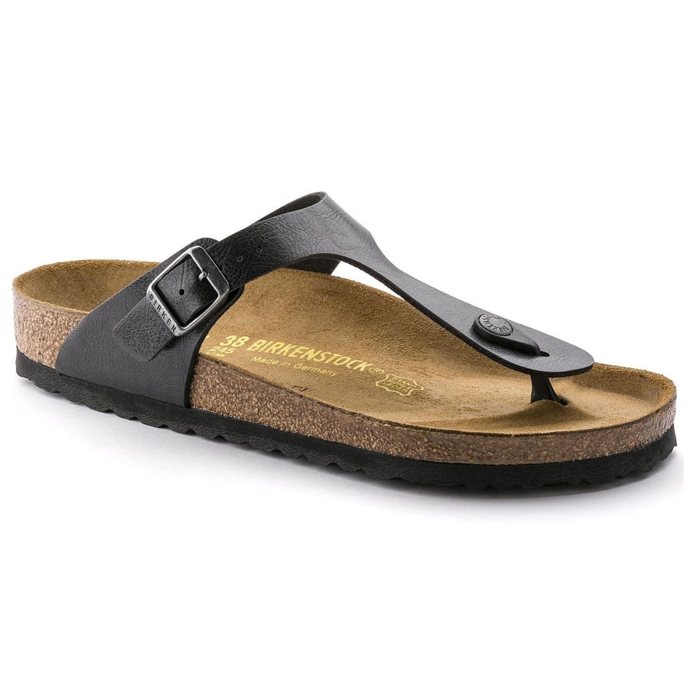 af416a0254a Birkenstock Gizeh BF 541953 Graceful Licorice NARROW - Women from ...