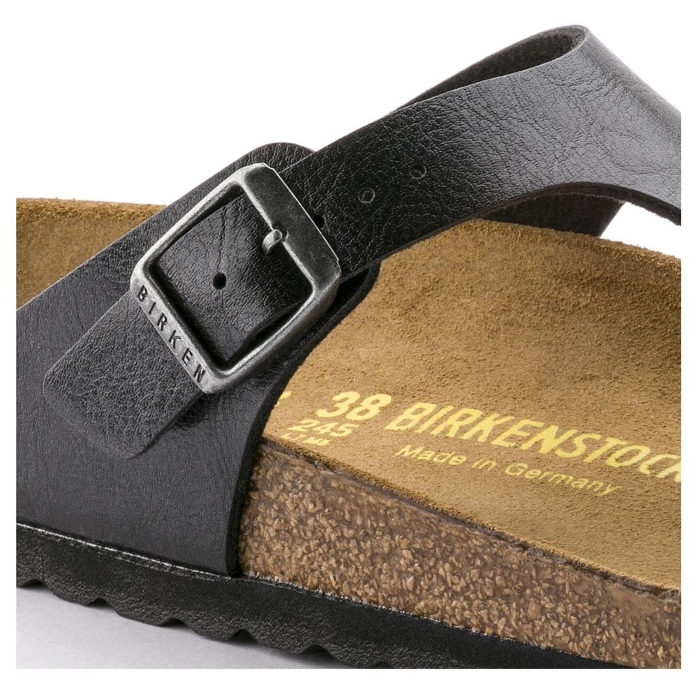 5d9422d96971 Birkenstock Gizeh BF 541953 Graceful Licorice NARROW - Women from ...