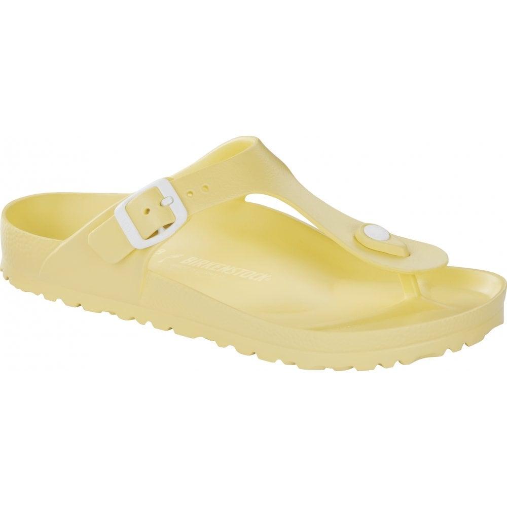 5734fb8d5a6 Birkenstock Gizeh E V A 1009203 Soft Yellow REGULAR - Women from ...