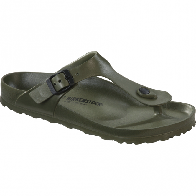 Birkenstock Gizeh EVA Khaki 128271, the beloved Gizeh classic but with a EVA twist