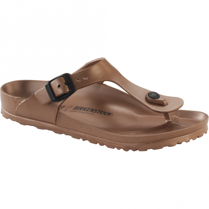 Birkenstock Gizeh EVA Metallic Copper 1001506, REGULAR