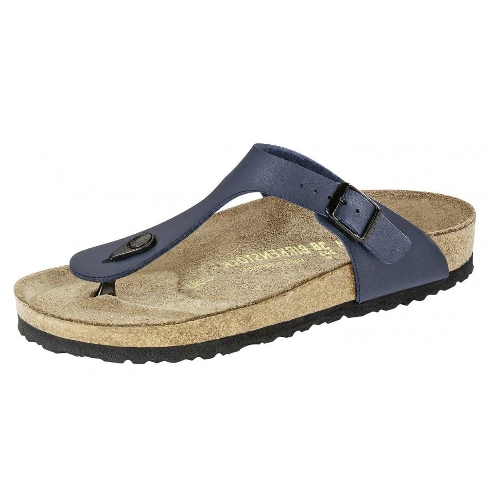 Birkenstock Birkenstock Gizeh Sandal 143621 Blue REGULAR
