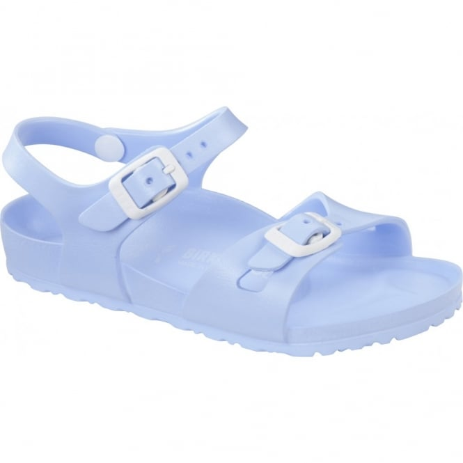Birkenstock Kids EVA Rio Light Blue 126153, the classic kids Rio sandal but with a EVA twist