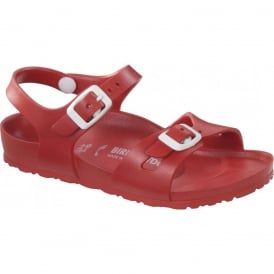 Kids EVA Rio Red 126133, the classic kids Rio sandal but with a EVA twist