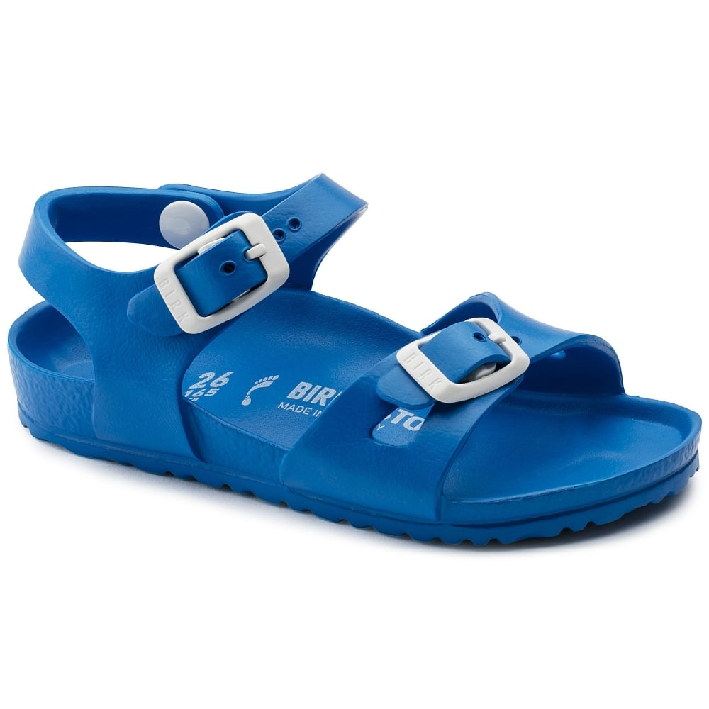 4dbf5705235e Birkenstock Kids Rio E V A 1003535 Scuba Blue NARROW - Kids from ...