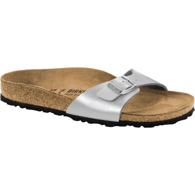 Birkenstock Madrid BF 1009607 Graceful Silver NARROW