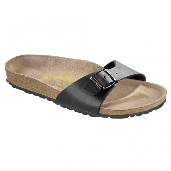Birkenstock Madrid Black 040791, Popular single strap sandal REGULAR