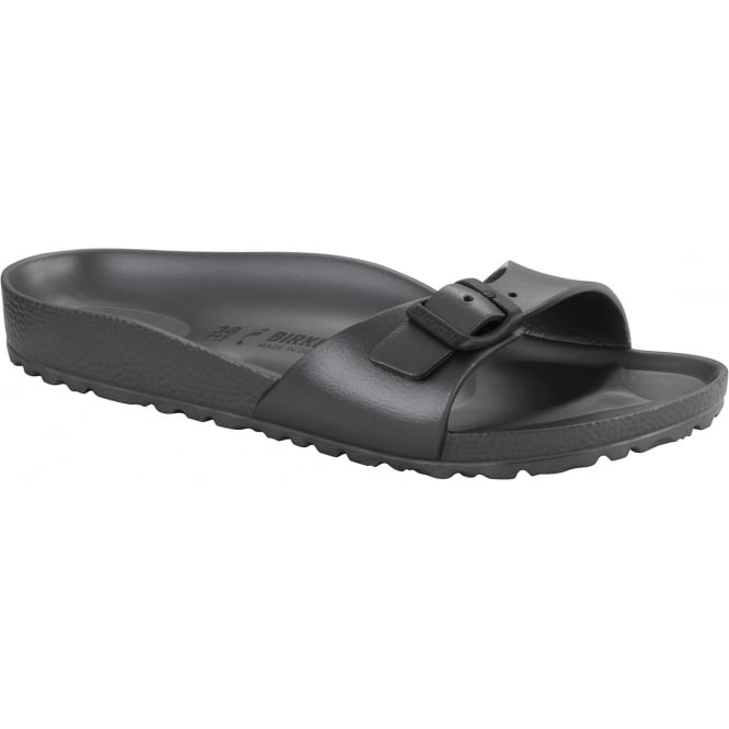 Birkenstock Madrid EVA Metallic Anthracite Grey 1001502, the beloved classic Madrid but with a EVA twist NARROW