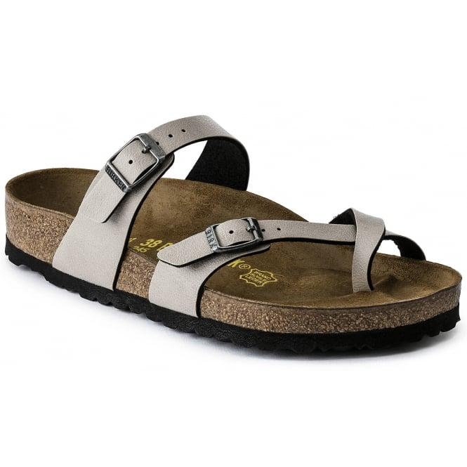 Birkenstock Mayari BF Pull Up 1005056 Stone REGULAR