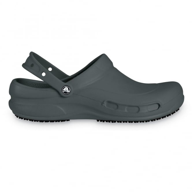 Crocs Bistro Graphite-Mario Batali Edition, Enclosed croslite work clog with Lock slip resistant soles