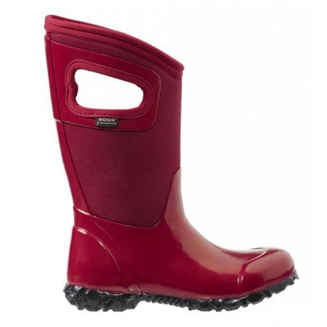 Bogs 71844 North Hampton Red, 100% waterproof wellington keeping you dry with every stomp!