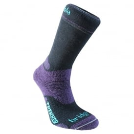 Bridgedale Women's Woolfusion Trekker Black/Purple 016