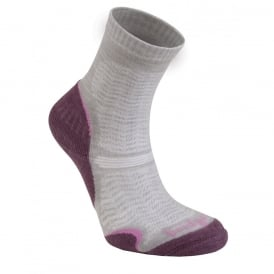 Bridgedale Women's Woolfusion Ultra Light Aubergine 390