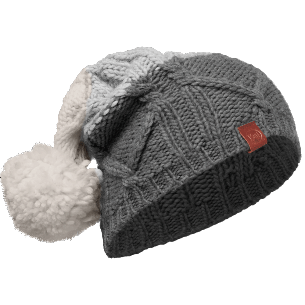 Buff Braid Knitted Bobble Hat Excalibur af19fb3cc89