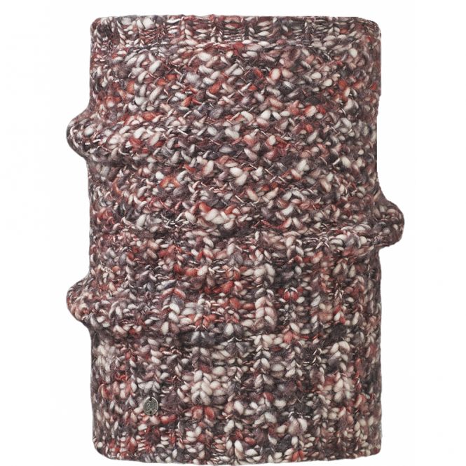 Buff Collar Blend Tay Ruby Wine, Cunky knitted neckwarmer