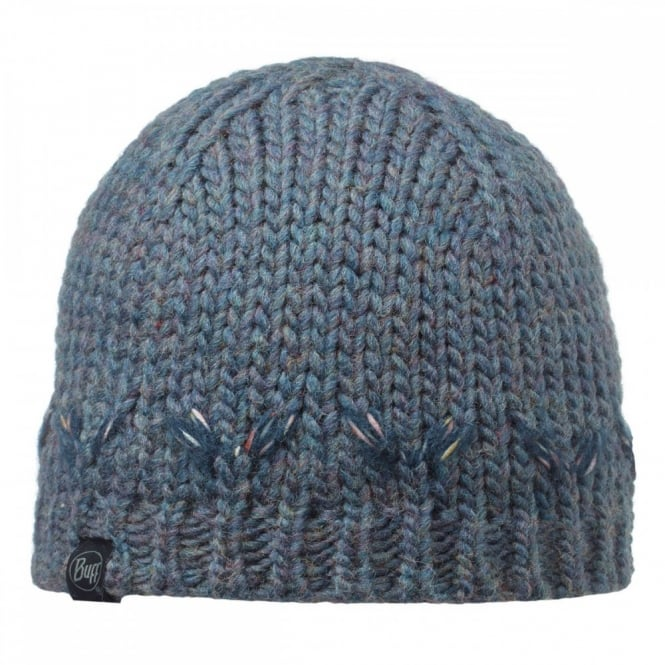Buff Lile Hat Denim, Chunky knitted hat