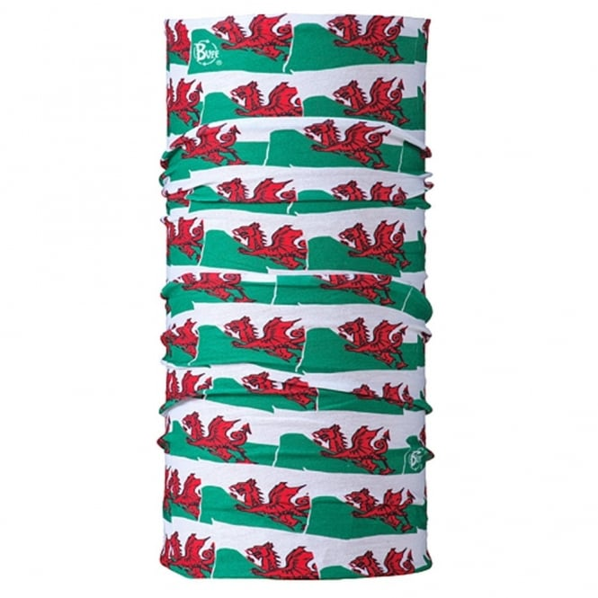Buff The Original Welsh Flag, Multifunctional head wear