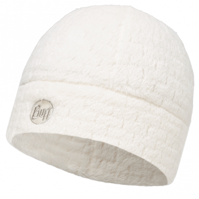 Buff Thermal Polar Fleece Hat Star White, perfect to protect against extreme colds