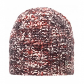 Wool Blend Tay Ruby Wine, Chunky knitted hat