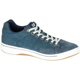 Cat Mens Cadre Sneaker Navy, Canvas Lace up