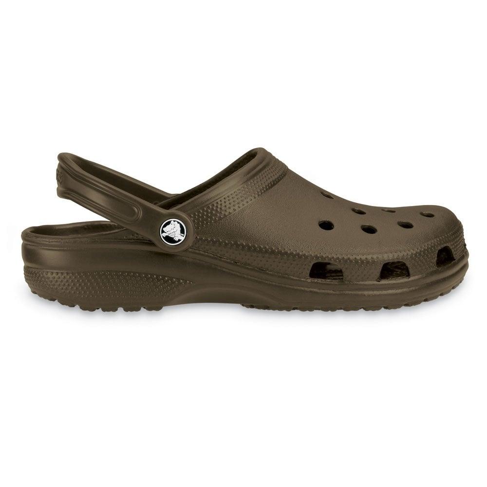 Classic Shoe Chocolate, Original Crocs slip on shoe