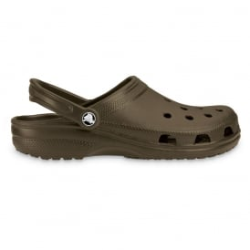 Classic Shoe Chocolate, Original Crocs slip on shoe