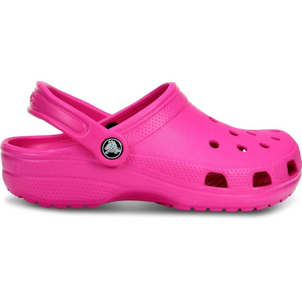 32bb88320 Crocs Classic Shoe Neon Magenta