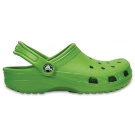 Classic Shoe Parrot Green, Original crocs slip on shoe
